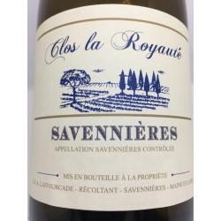 """Savennieres """"Clos de Royauté"""" 2014"""