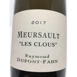 """Meursault """" Les Clous"""" 2018"""