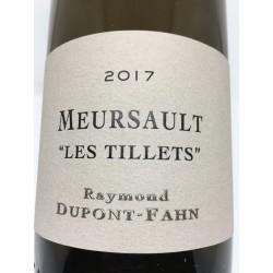 "Meursault ""Les Tillets"" 2018"