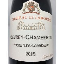 """Gevrey-Chambertin 1er Cru """"Les Corbeaux"""" 2015"""