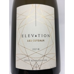 Elevation Les coteaux, Côtes de Roussillon, blanc 2018