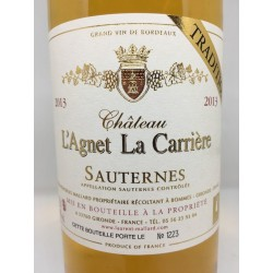 Chateau L´Agnet La Carriére Tradition 2013
