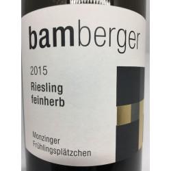Riesling Monzinger Frühlingsplätzchen Feinherb 2015