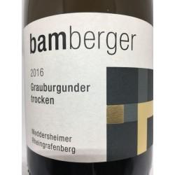 Grauburgunder Meddersheimer Rheingrafenberg 2016