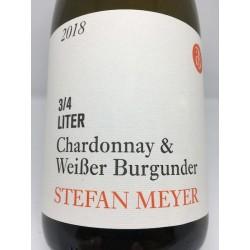 Chardonnay & Weissburgunder 3/4 ltr. 2018 (90 point vinbladet, fund vin)