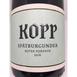Spätburgunder Roter Porphyr 2016 (93 point vinbladet)