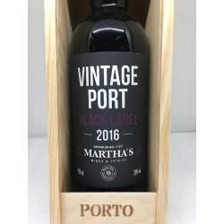 Vintage Port, Black Label 2016