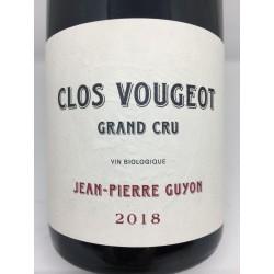 Clos Vougeot Grand Cru 2018