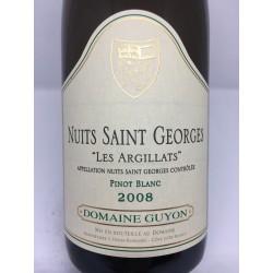 """Nuits Saint Georges """"Les Argillats"""" 2008 (Pinot Blanc)"""
